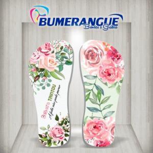 Empresa de chinelos personalizados